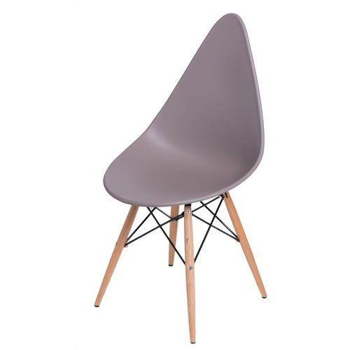 Krzesło Rush DSW szare - szary (5902385700160)