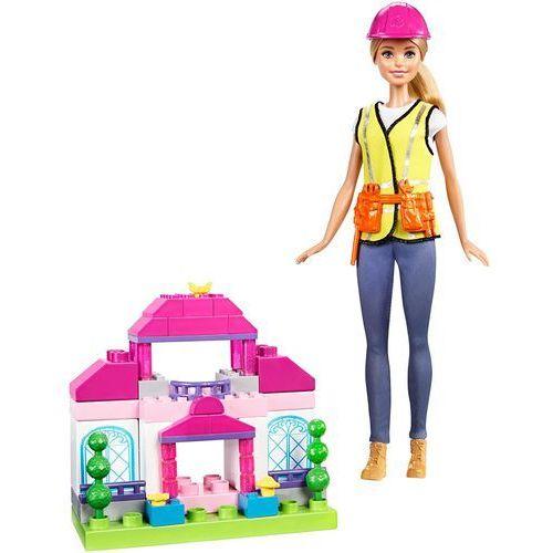 Mattel Barbie budowniczy + klocki - BEZPŁATNY ODBIÓR: WROCŁAW!