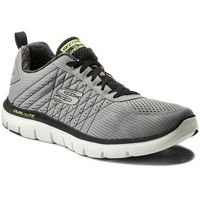 Buty SKECHERS - The Happs 52185/LGBK Light Gray/Blk
