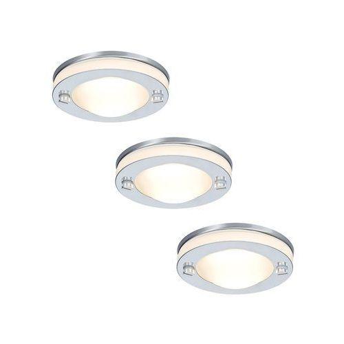 Paulmann 96530 - set 3x lampa sufitowa łazienkowa 3x35w ip65