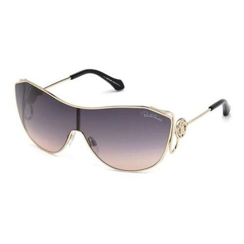 Okulary Słoneczne Roberto Cavalli RC 1061 GARFAGNANA 32B, kolor żółty