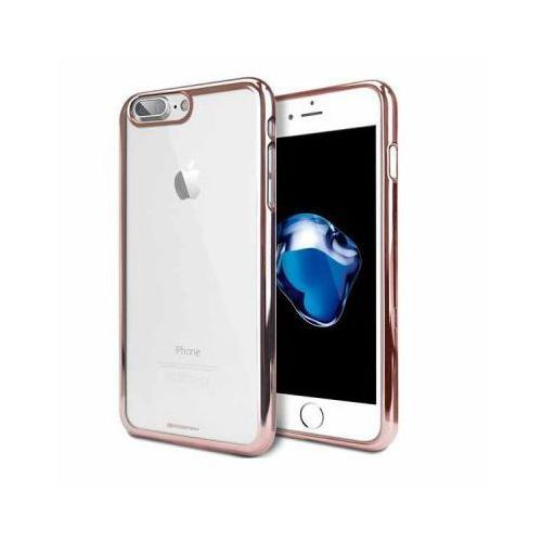 Futerał back case jelly mercury ring 2 iphone 6 6s różowo złoty marki Goospery