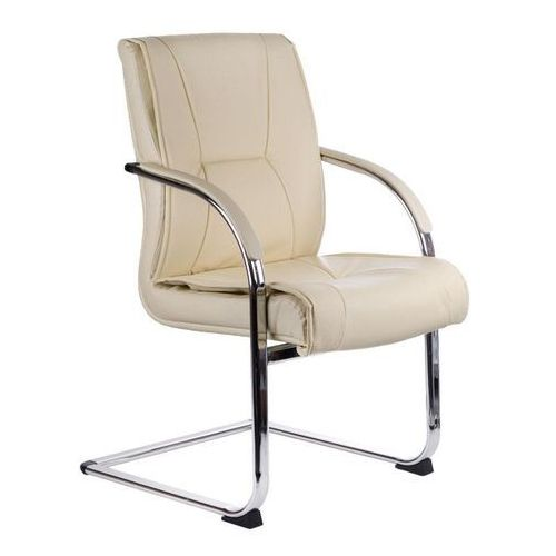 Fotel konferencyjny corpocomfort bx-3345 kremowy marki Beauty system