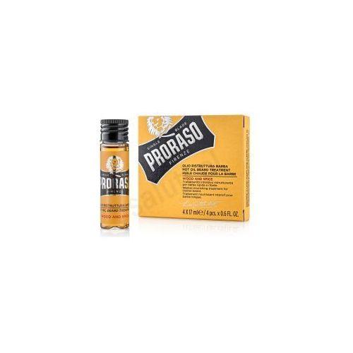 Proraso Drzewo cedrowe i cytrusy - Gorący olejek do brody (4 x 17 ml) (8004395001798)
