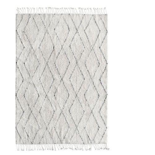 dywan berber z bawełny i frędzlami (140x200) ttk3010 marki Hk living