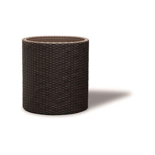 Keter Doniczka medium cylinder planter - brązowy + darmowy transport! + zamów z dostawą jutro!