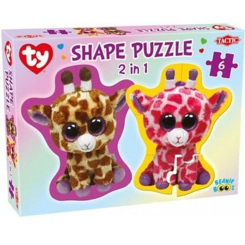Tactic Beanie boos shape, puzzle 2w1