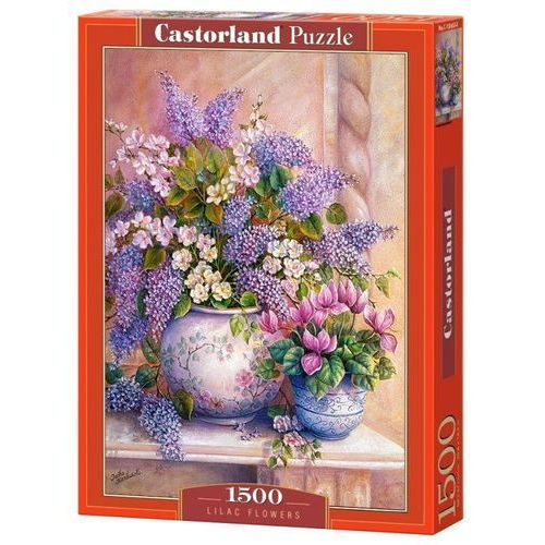Puzzle 1500 Lilac Flowers