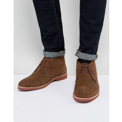 chukka boots brown suede - brown, Red tape