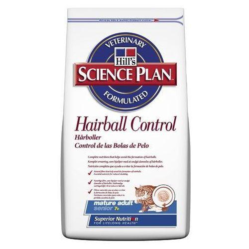 Hills SP Feline Mature Adult Hairball Control karma dla kotów starszych