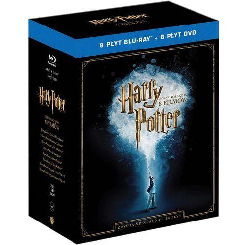 Harry Potter. Kolekcja 8 filmów. Edycja specjalna. Blu-Ray - produkt z kategorii- Pakiety filmowe