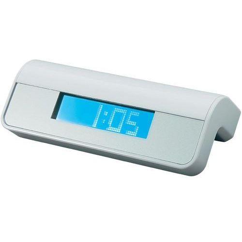 Hub USB z zegarem i kalendarzem, 4 x USB, biały