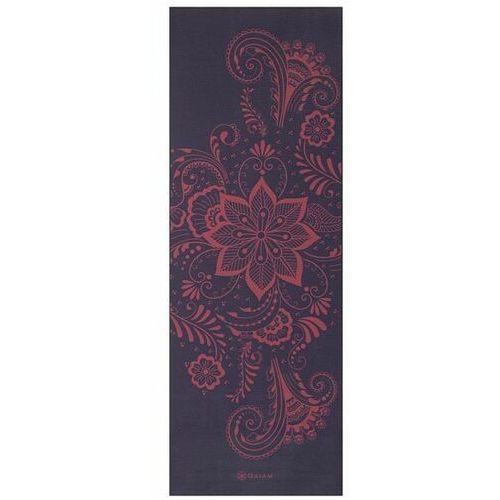 Mata do jogi swirl aubergine 173x61x0,6cm marki Gaiam