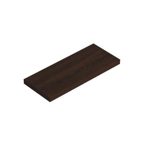 Domax Półka samowisząca wenge 59,5x23,5cm velano (5907708145888)