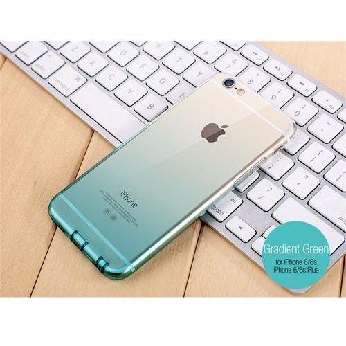 Etui Gradientowe dla iPhone 7 Plus i 8 Plus - Gradient Zielony - iPhone 7 Plus i 8 Plus \ Gradient Zielony, kolor zielony