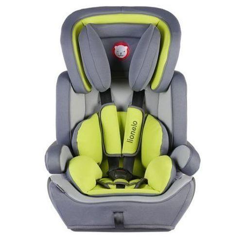 Fotelik samochodowy levi plus limonkowy marki Lionelo