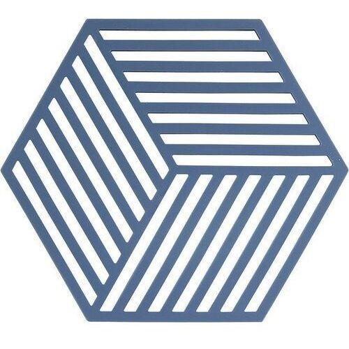 Podstawka pod gorące naczynia hexagon niebieska