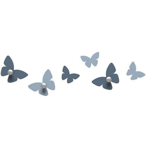 Wieszaczki ścienne Millions of Butterflies CalleaDesign niebieskie (50-13-2-44)