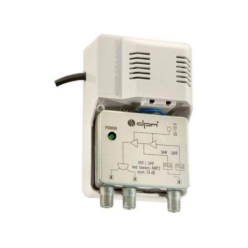 Wzmacniacz antenowy DPM Solid 2 wyjścia (5906881184691)
