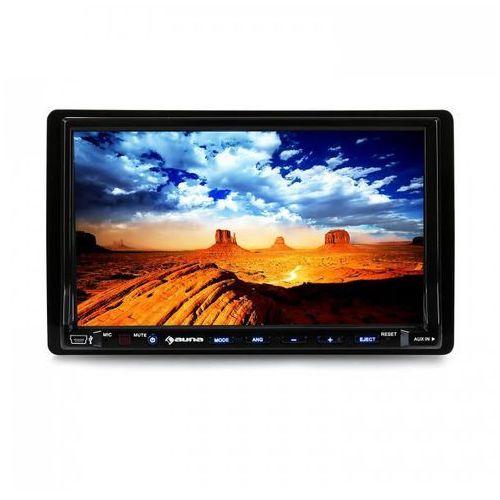 Auna dva72bt moniceiver odtwarzacz dvd z 18 cm ekranem