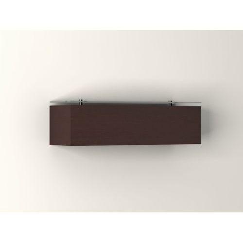 kinkiet CASPE 30 pełne z górnym szkłem, CLEONI 8813+/S