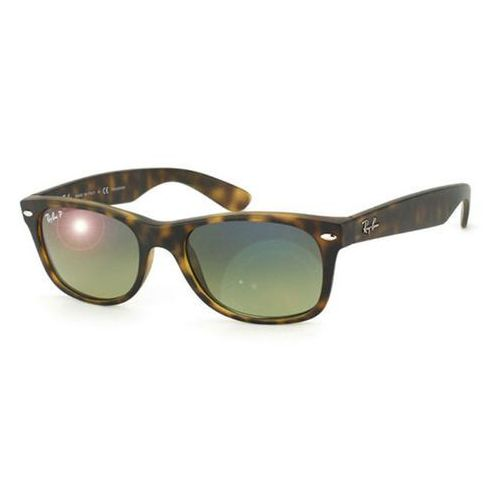 Ray-ban Okulary słoneczne rb2132f new wayfarer matte asian fit polarized 894/76
