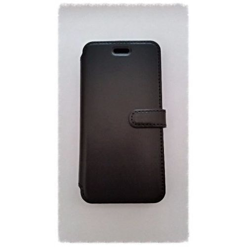 LEATHER IPHONE 6/6S BLACK BOOK CASE z kategorii Futerały i pokrowce do telefonów