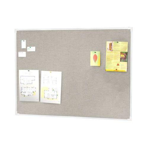 Tablica informacyjna, 3000x1200 mm, jasnoszary, aluminium, 13390