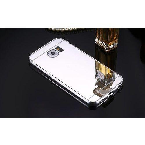 Mirror Bumper Metal Case Srebrny   Etui dla Samsung Galaxy S6 - Srebrny