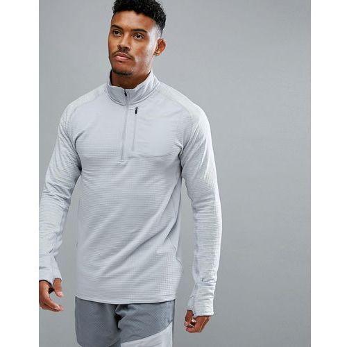 therma spehere element half zip sweat in grey 857829-012 - grey, Nike running