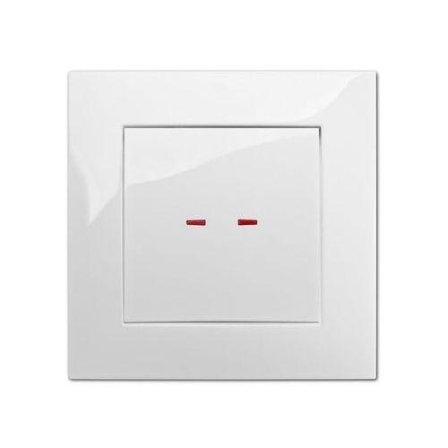 Elektro-plast Włącznik pojedynczy z podświetleniem carla (5902431692975)