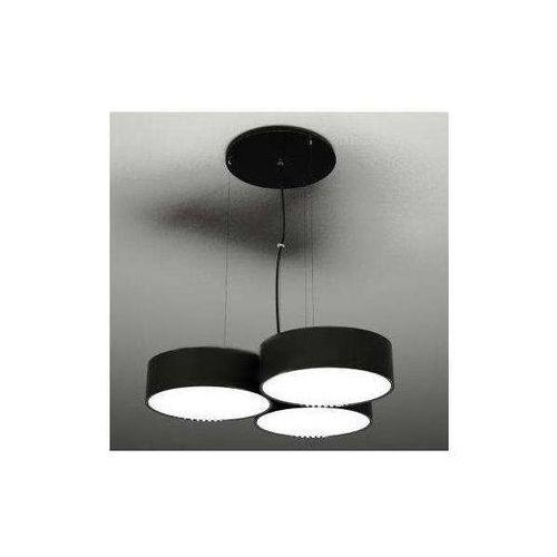 Żyrandol LAMPA wisząca ZAMA 5514/GX53/CZ Shilo metalowa OPRAWA ZWIS okrągła czarny, kolor Czarny