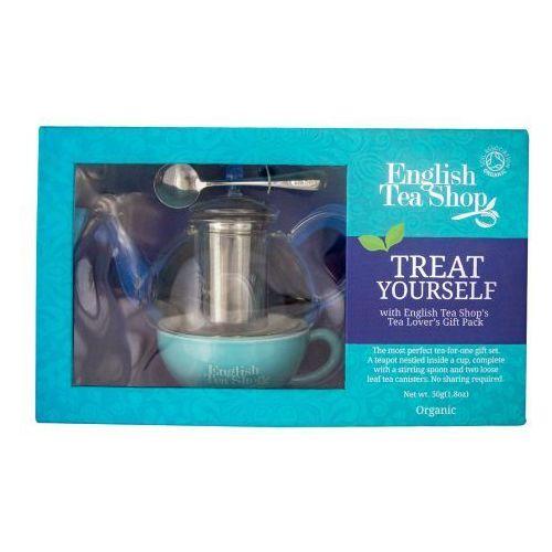 ETS Treat Yourself Zestaw z czajniczkiem, filiżanką, łyżeczką