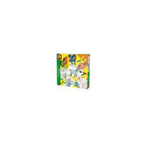 Zestaw do wyklejania - 16 obrazów z kolor. taśmami marki Ses nl