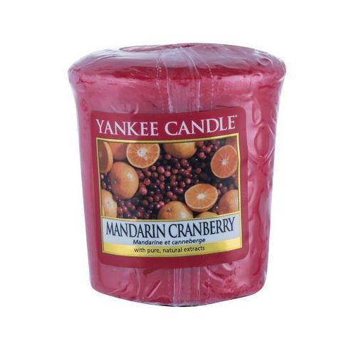Yankee candle mandarin cranberry 49 g świeczka zapachowa