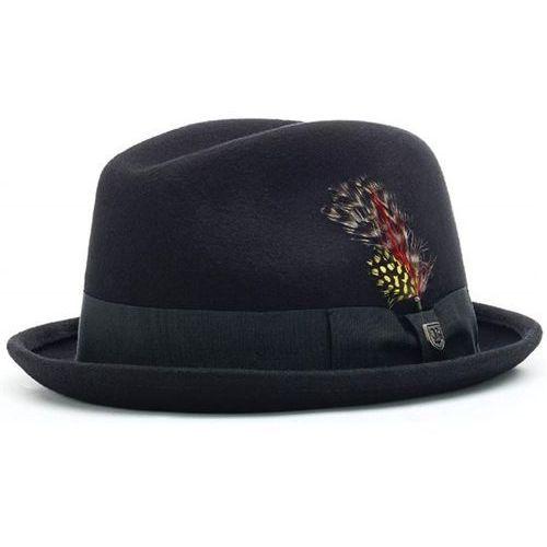 kapelusz BRIXTON - Gain Black (0100)