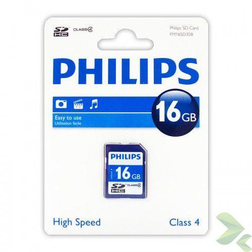 karta pamięci sdhc 16gb class 4 marki Philips