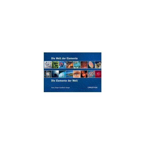 Die Welt der Elemente. Elemente der Welt (9783527317899)
