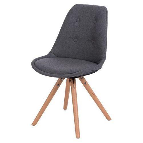 Krzesło Norden Star pikowane szare