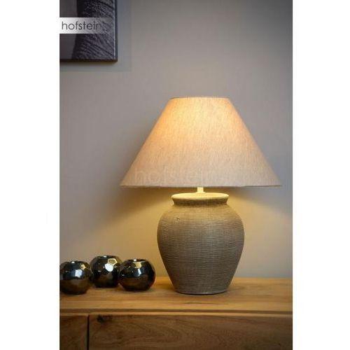 Lucide ramzi lampa stołowa brązowy, 1-punktowy - dworek - obszar wewnętrzny - ramzi - czas dostawy: od 10-14 dni roboczych (5411212470218)