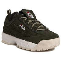Sneakersy - disruptor s low 1010577.50p forest night, Fila, 41-46