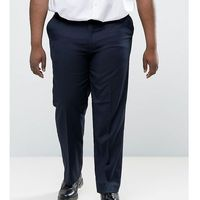 plus smart trousers in navy - navy, Duke