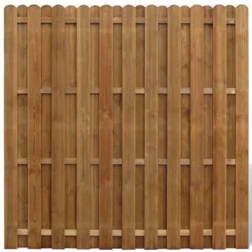 vidaXL Płot sztachetowy drewniany z kategorii Przęsła i elementy ogrodzenia