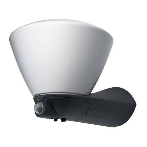 Osram - led kinkiet zewnętrzny z czujnikiem endura led/7w/230v ip44 czarny (4058075032422)