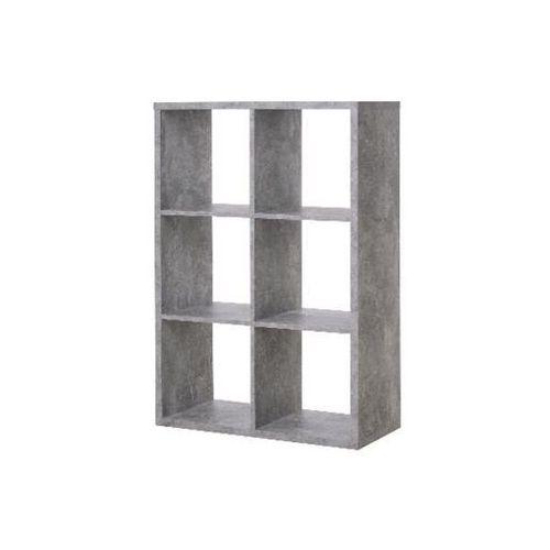 Fontini Max regał 6 struktura betonu