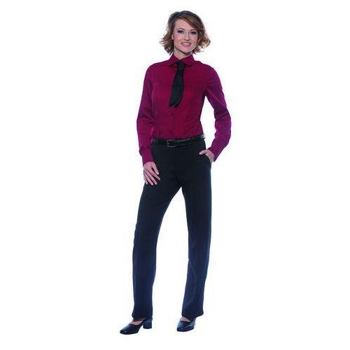Bluzka damska z długim rękawem, rozmiar 44, bordo | KARLOWSKY, Mia