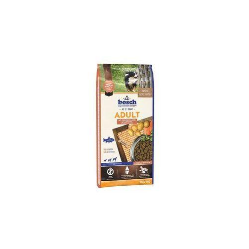 Bosch adult salmon & potato, łosoś i ziemniak (nowa receptura) 15kg + 5xpaszteciki przesyłka gratis!!! (4015598013314)