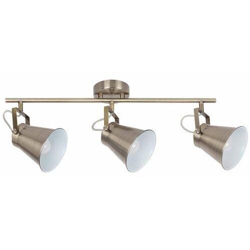 Plafon lampa sufitowa listwa martina 3x60w e27 brąz 6518 marki Rabalux