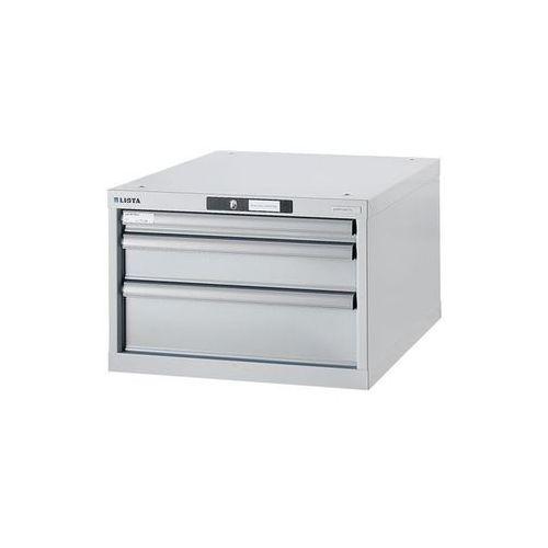 Lista Stół warsztatowy w systemie modułowym, szafka dolna,wys. 383 mm, 3 szuflady