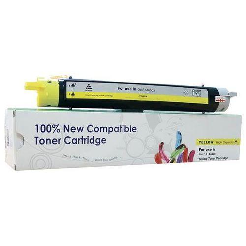 Toner cw-d5100yn yellow do drukarek dell (zamiennik dell 593-10053 / g5574) [8k] marki Cartridge web